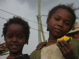 These girls hope for a brighter future (courtesy: Ahron de Leeuw)