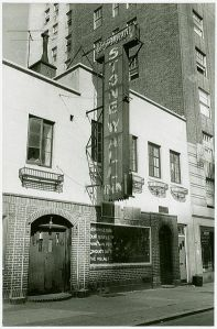 The Stonewall Inn in Greenwich Village NY, 1969