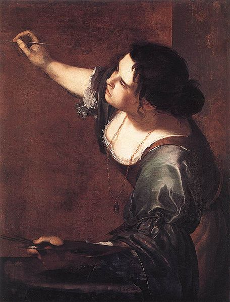 Self Portrait as the Allegory of Painting