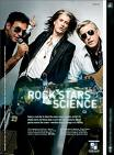 Rock Stars of Science Advertisement in GQ magazine