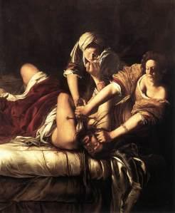 Judith Beheading Holofernes by Artemisia Gentileschi