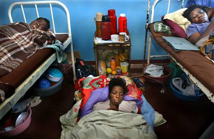Women suffering from AIDS are among those that UNIFEM seeks to help