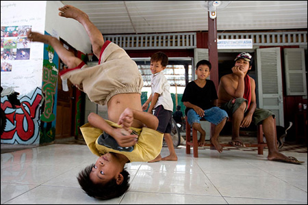 The street boys of Cambodia: The next victims?