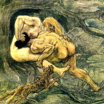 """Fighting Lust,"" by Werner Sonntag"