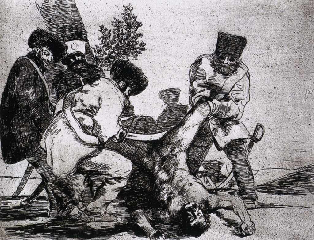 The Atrocities of War Francisco De Goya