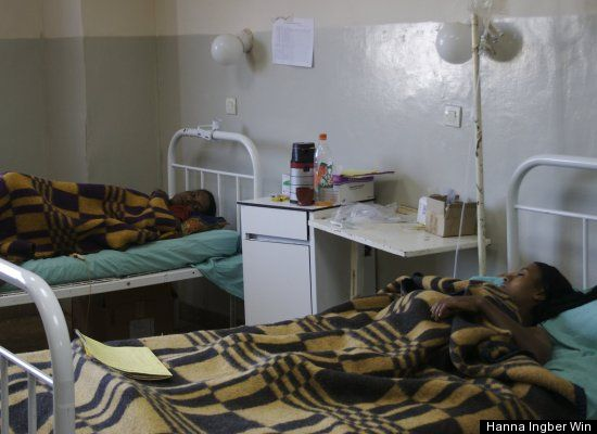 A hospital in Ethiopia.  Image care of The Huffington Post