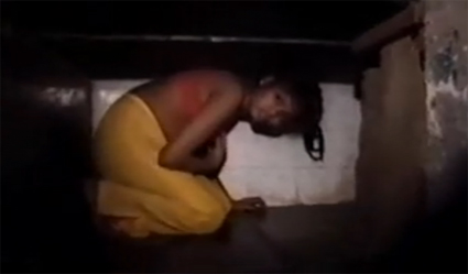 A child prostitute in India - the nation is one of many in the region that is tormented by the HIV/AIDS epidemic borne through the sex trade
