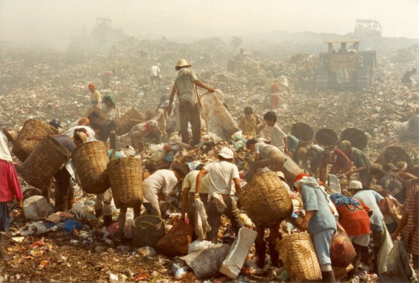 The Millennium Declaration hopes to reverse scenes of poverty such as this one in the Philippines by 2015