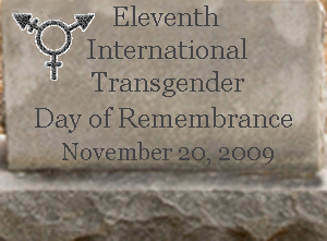 11th International Transgender Day of Remembrance