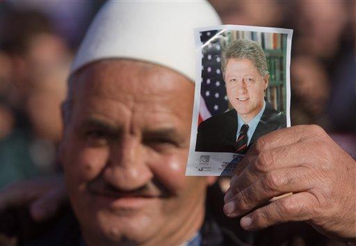 Kosovo Bill Clinton Visit