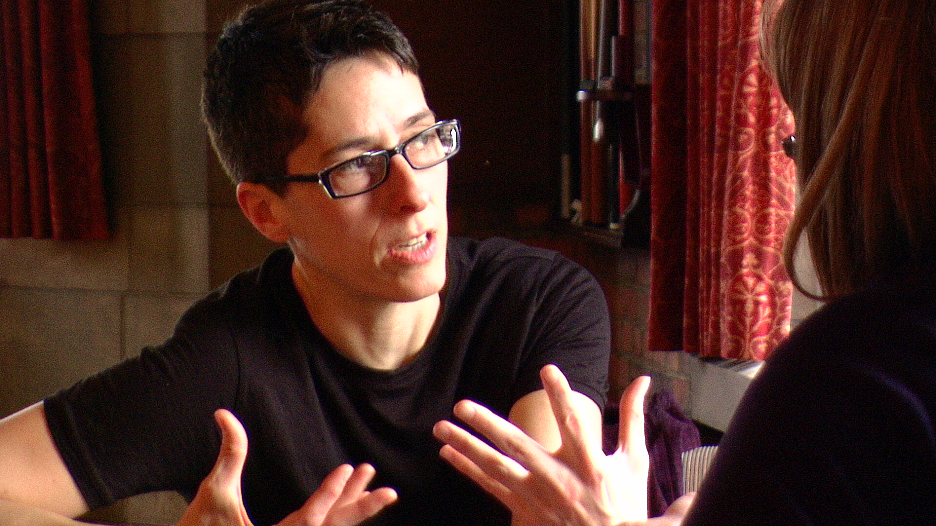 alison bechdel Fun home: a family tragicomic is a 2006 graphic memoir by the american cartoonist alison bechdel, author of the comic strip dykes to watch out forit chronicles the author's childhood and youth in rural pennsylvania, united states, focusing on her complex relationship with her father.